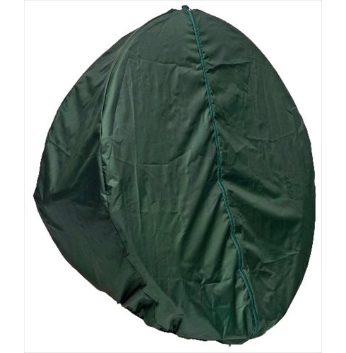 garden relaxer chair covers roman leg raises vs hanging globo single pod cover, green - the factory
