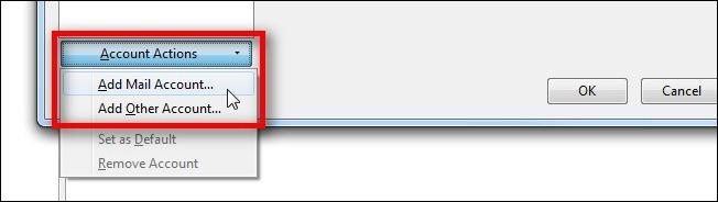 Sao lưu tài khoản Email với Thunderbird