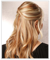Easy Half Up Down Hairstyles Easy Casual Hairstyles For Long Hair