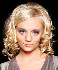 Prom Hairstyles For Curly Medium Hair Fusion Hair Extensions Nyc