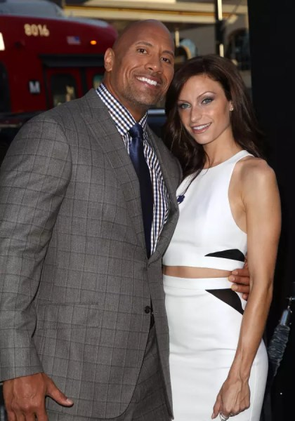 lauren hashian Dwayne Johnson and Lauren Hashian: Expecting First Child