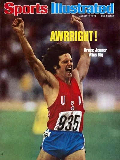 Bruce Jenner Sports Illustrated Cover
