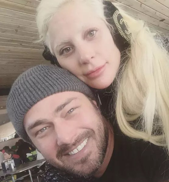 Lady Gaga  Taylor Kinney See Their PostCoital Selfie Covered in Paint  The Hollywood Gossip
