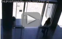 Girl Tries, Fails to Negotiate Sliding Glass Door - The ...