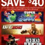 Red Dead Redemption Ufc 2010 Or Super Mario Galaxy 2 For