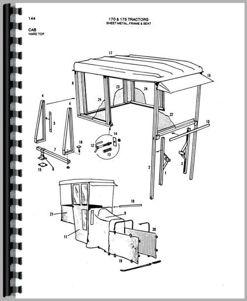 Allis Chalmers 170 Tractor Parts Manual