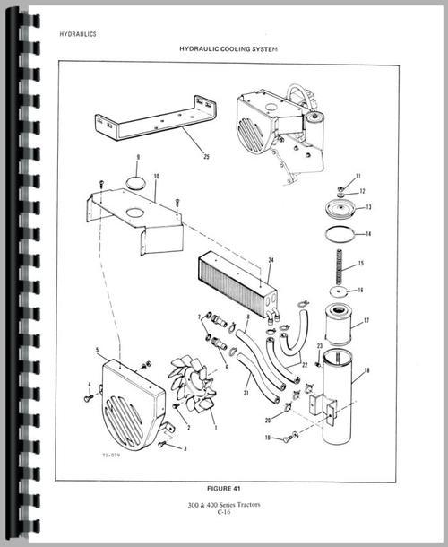 Allis Chalmers 300 Lawn & Garden Tractor Service Manual