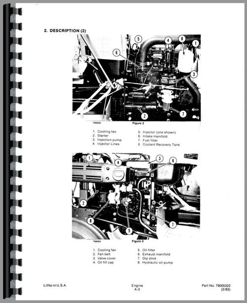 Allis Chalmers 5015 Tractor Service Manual
