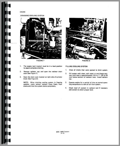 Allis Chalmers 5020 Tractor Service Manual