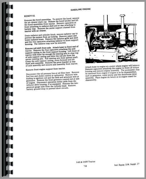Allis Chalmers 510 Forklift Service Manual
