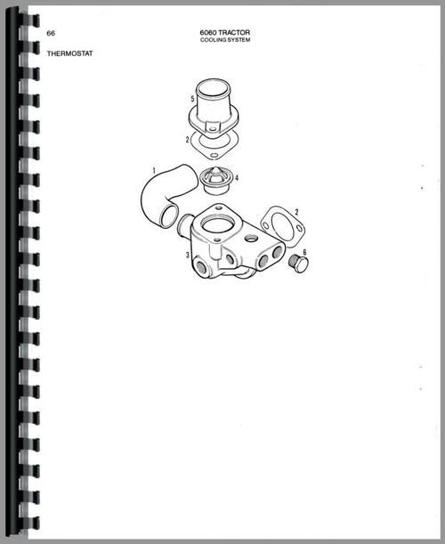 Allis Chalmers 6060 Tractor Parts Manual