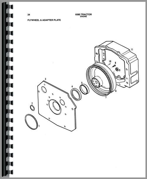 Allis Chalmers 6080 Tractor Parts Manual