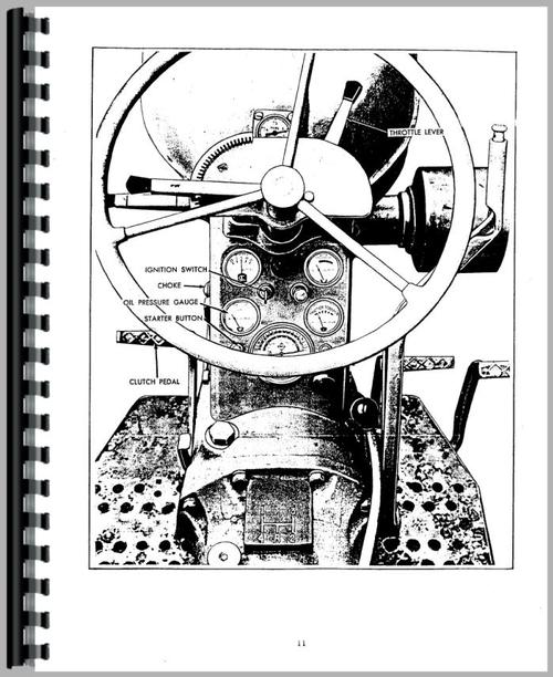 Allis Chalmers D14 Tractor Operators Manual