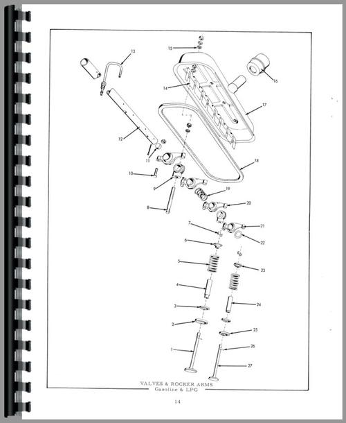 Allis Chalmers D17 Tractor. Diagrams. Wiring Diagram Images
