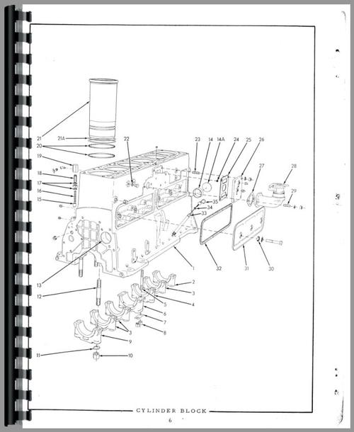 Allis Chalmers HD16GC Crawler Parts Manual