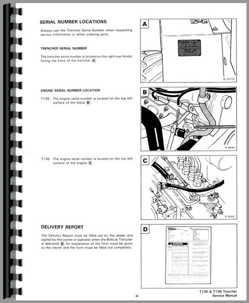 BOBCAT 553 REPAIR MANUAL SKID STEER LOADER 516311001 IMPROVED  Auto Electrical    Wiring       Diagram