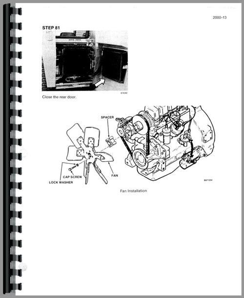Case 1835C Uniloader Service Manual