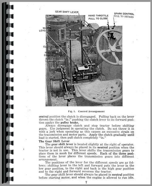 Case 25-45T Tractor Operators Manual