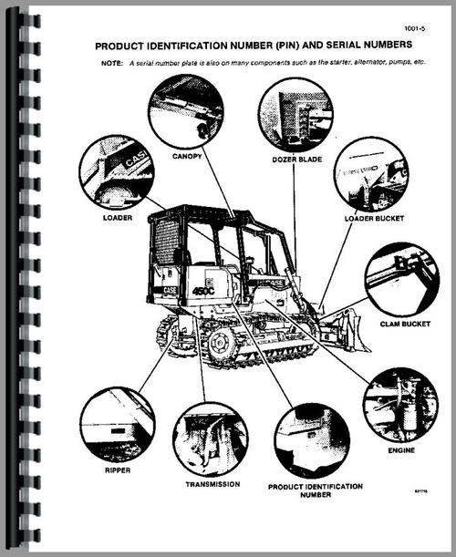 Case 455C Crawler Service Manual
