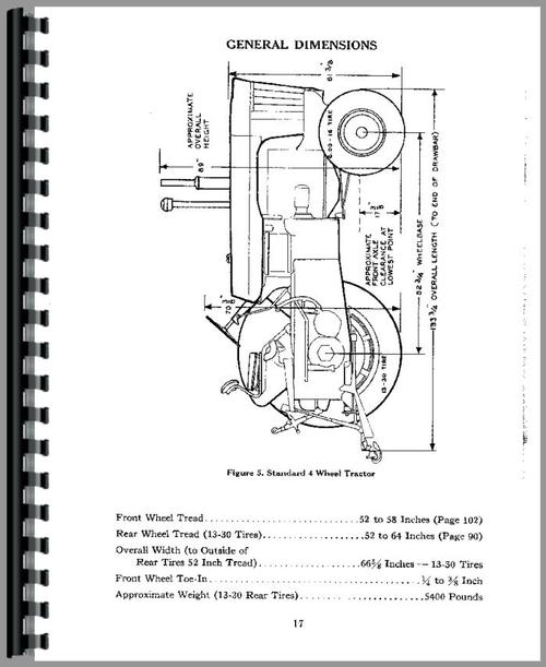 Case 800 Tractor Operators Manual