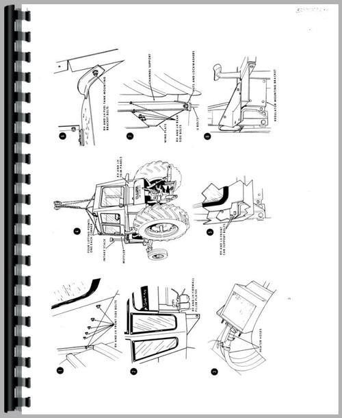 Case 841 Tractor Service Manual