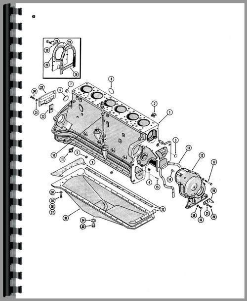 Case 941 Tractor Parts Manual