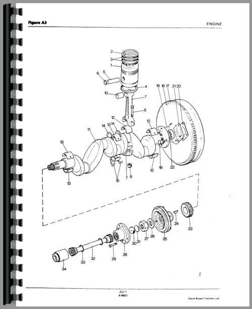 Case 990 Tractor Parts Manual