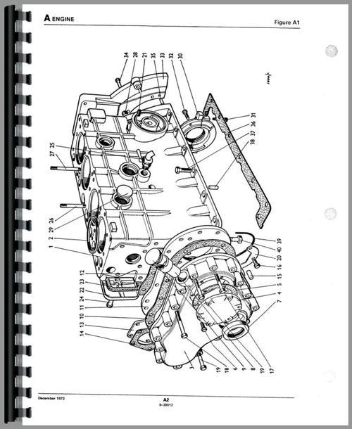 Case 995 Tractor Parts Manual
