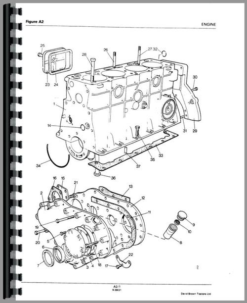 Case 996 Tractor Parts Manual