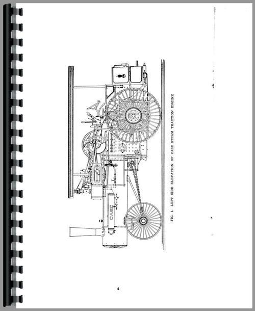 Case Steam Tractor Operators Manual
