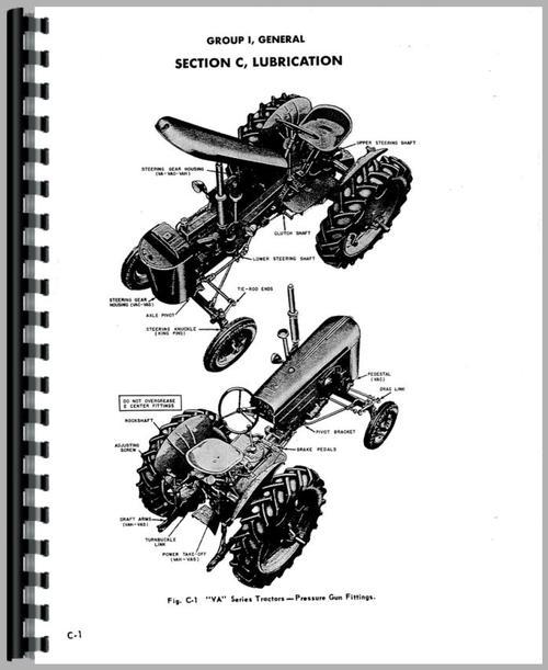 Case VAC Tractor Service Manual