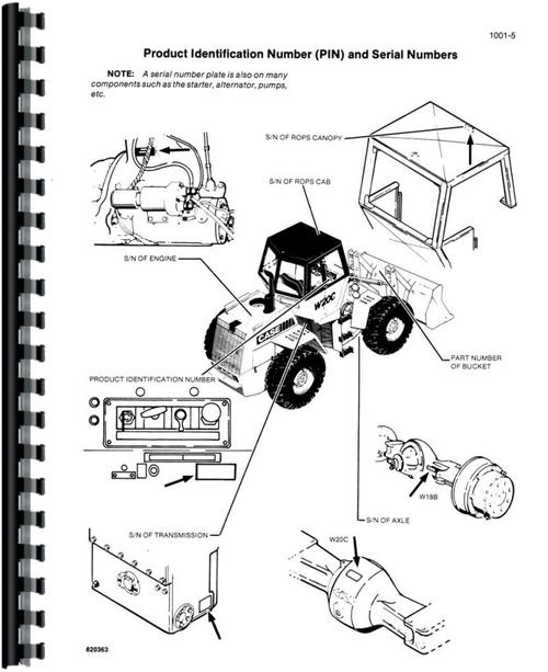 Case W20C Wheel Loader Service Manual