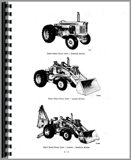 Case W3 Tractor Loader Backhoe Service Manual