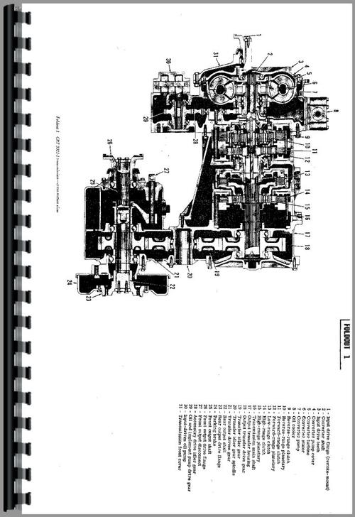 Case W9 Wheel Loader Service Manual