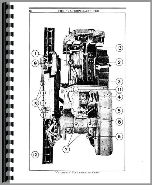 Caterpillar 10 Crawler Operators Manual