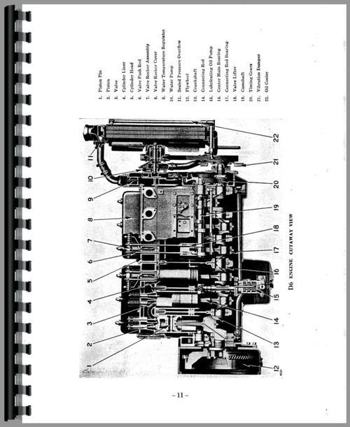 Caterpillar 12 Grader Engine Service Manual