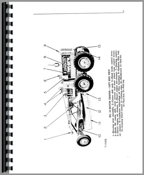 Caterpillar 12 Grader Operators Manual
