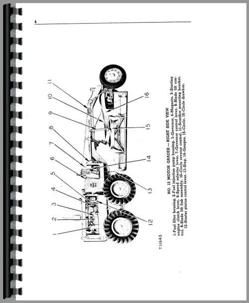 Caterpillar 12 Grader Operators Manual