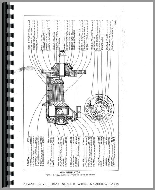 Caterpillar 12 Grader Parts Manual