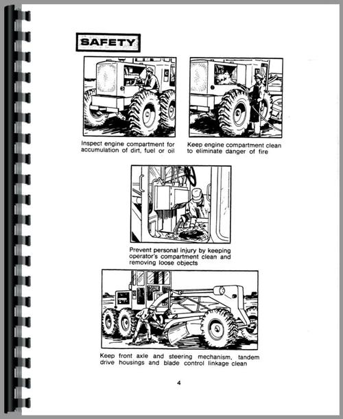 Caterpillar 14E Grader Operators Manual