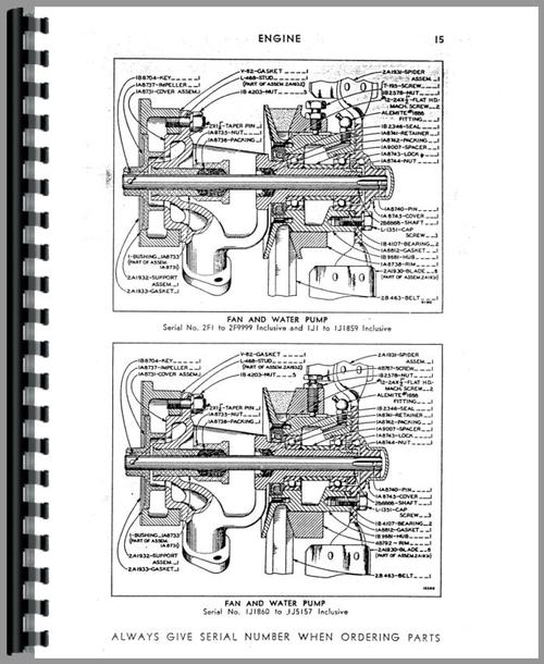 Caterpillar 22 Crawler Parts Manual