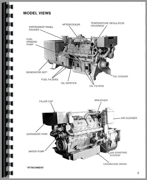Caterpillar 3412 Engine Service Manual