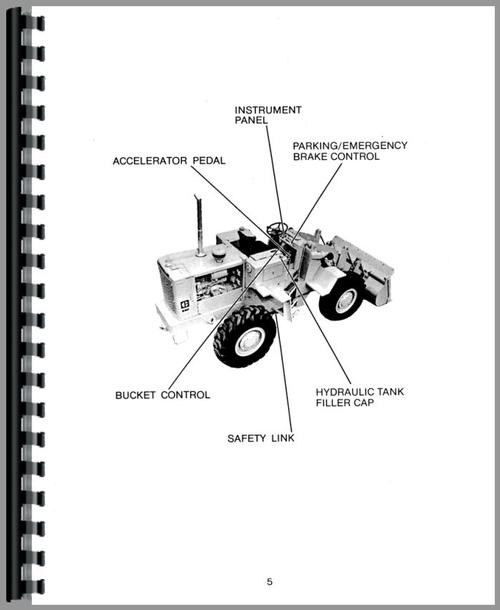 Caterpillar 920 Wheel Loader Operators Manual