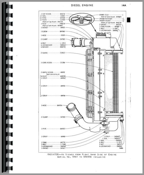 Caterpillar 922 Traxcavator Parts Manual