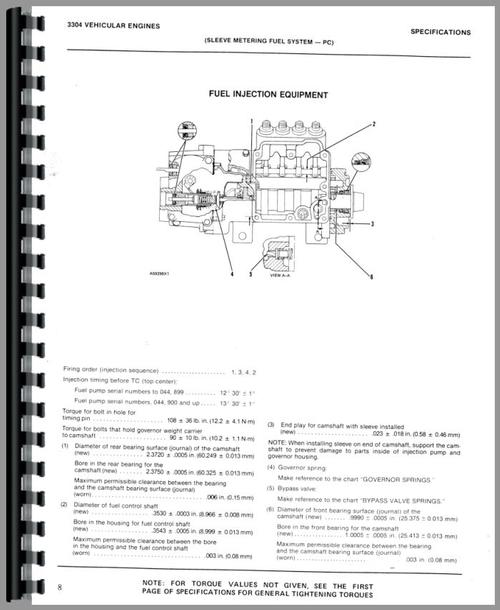 Caterpillar 930 Wheel Loader Service Manual