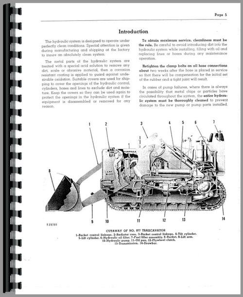 Caterpillar 977 Traxcavator Service Manual
