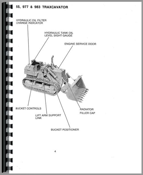 Caterpillar 977L Traxcavator Operators Manual