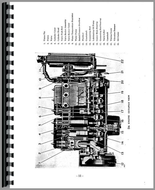 Caterpillar D4600 Engine Service Manual