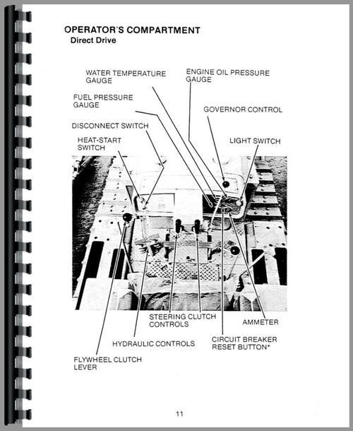 Caterpillar D5 Crawler Operators Manual