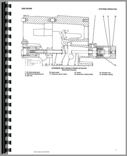 Caterpillar D5B Crawler Service Manual